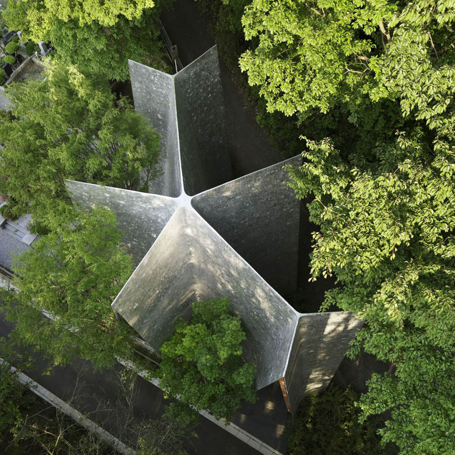 Sayama Forest Chapel by Hiroshi Nakamura & NAP