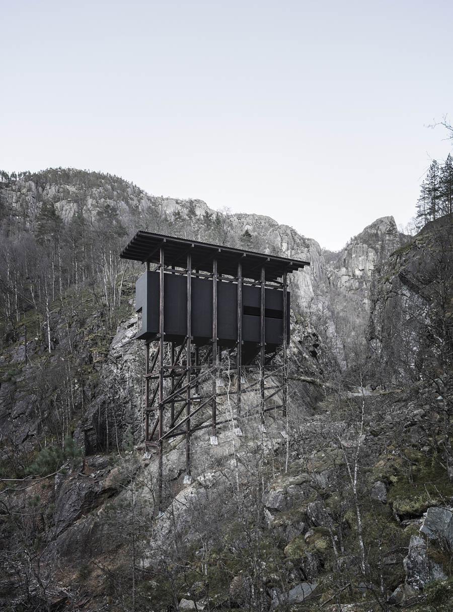 Allmannajuvet Zinc Mine Museum by Peter Zumthor