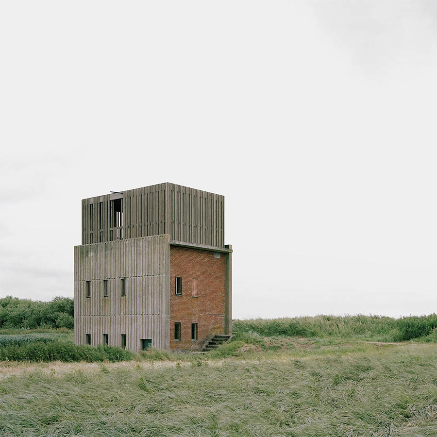 Skjern River Pump Stations by Johansen Skovsted Arkitekter