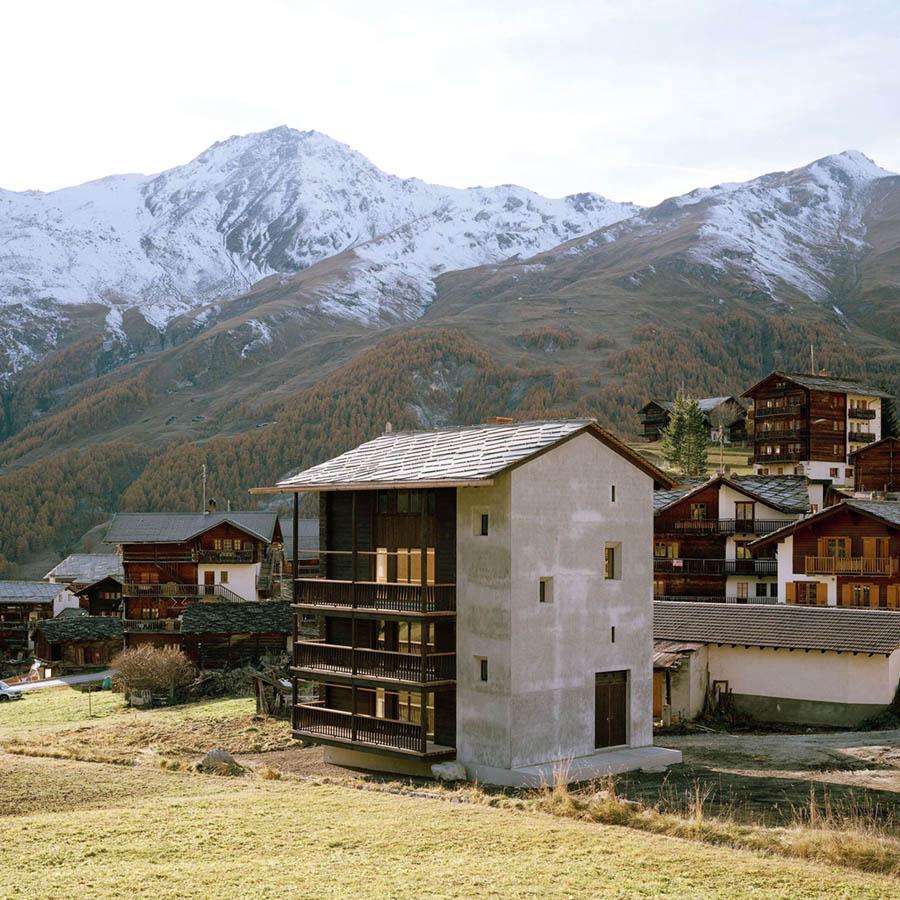 Chalet La Forclaz by Jaccaud Spicher Architects