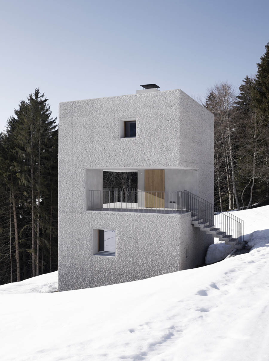 Mountain Cabin by Marte.Marte Architects
