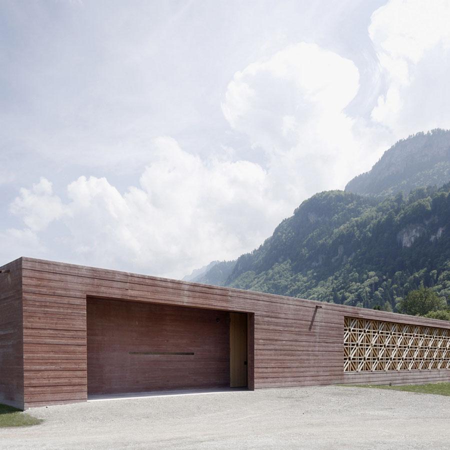 Islamic Cemetery in Altach by Bernardo Bader Architekten
