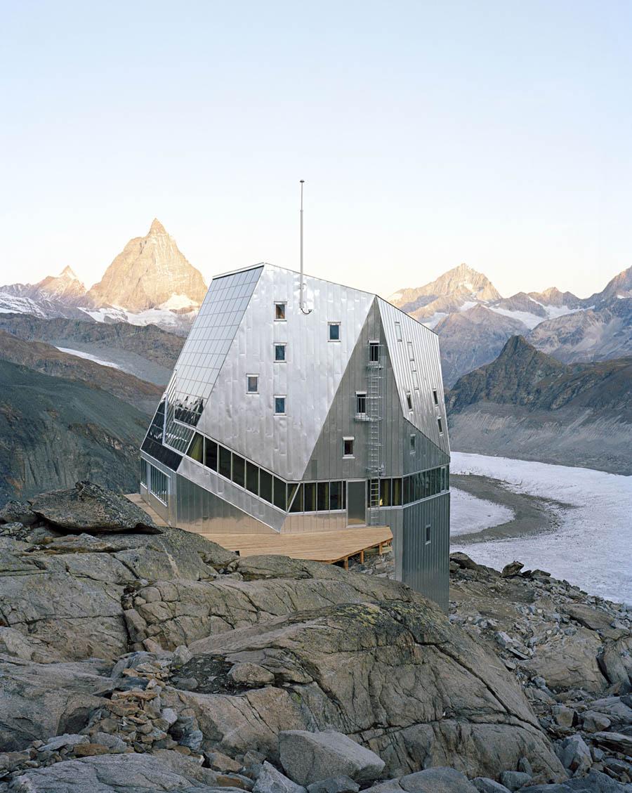 Monte Rosa Hut by Bearth & Deplazes Architekten