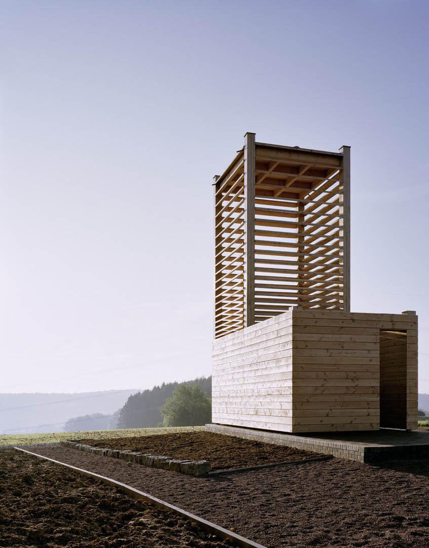 Field Chapel in Boedigheim by students of IIT and Ecker Architekten