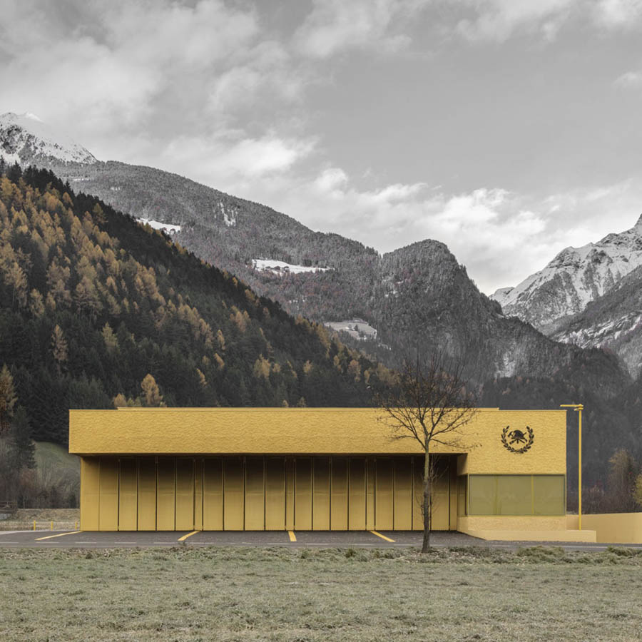 Fire Station Sand in Taufers by Pedevilla Architects