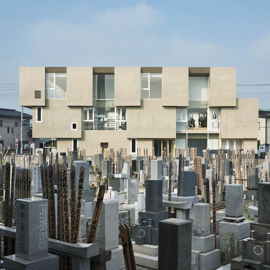 Shoraku-Ji by Toru Kashihara Architects