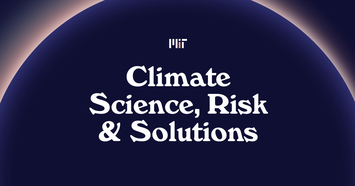 Climate Science, Risk & Solutions