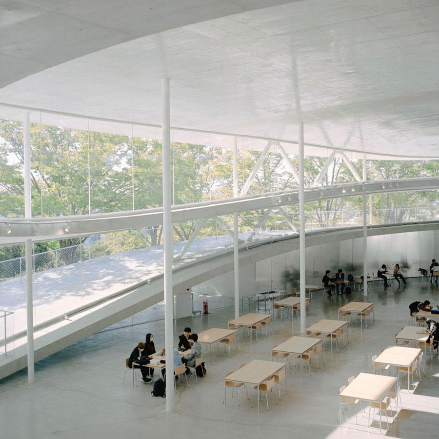 Osaka University of Arts by Kazuyo Sejima