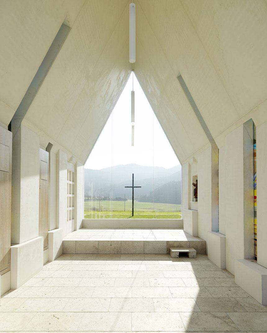 Chapel Maria Magdalena by Sacher Locicero Architectes