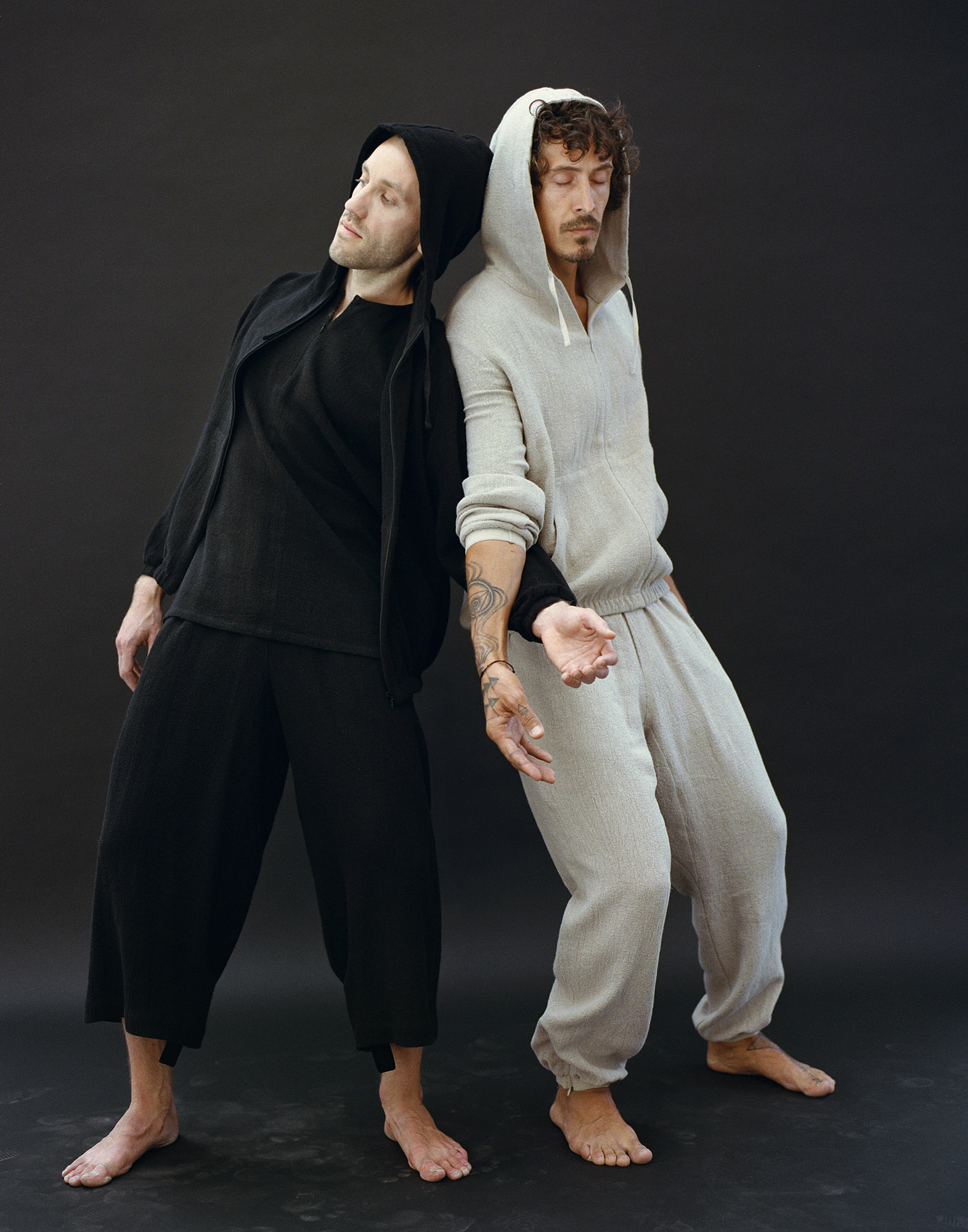 RAW Men Sweatpants Black