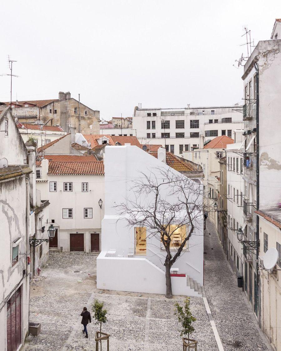 Casa da Severa by José Adrião Arquitectos