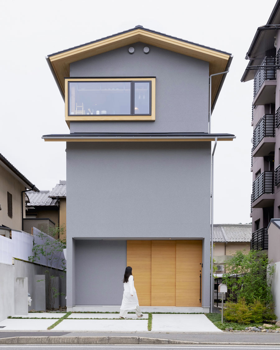 Iwakura House by ALTS Design Office