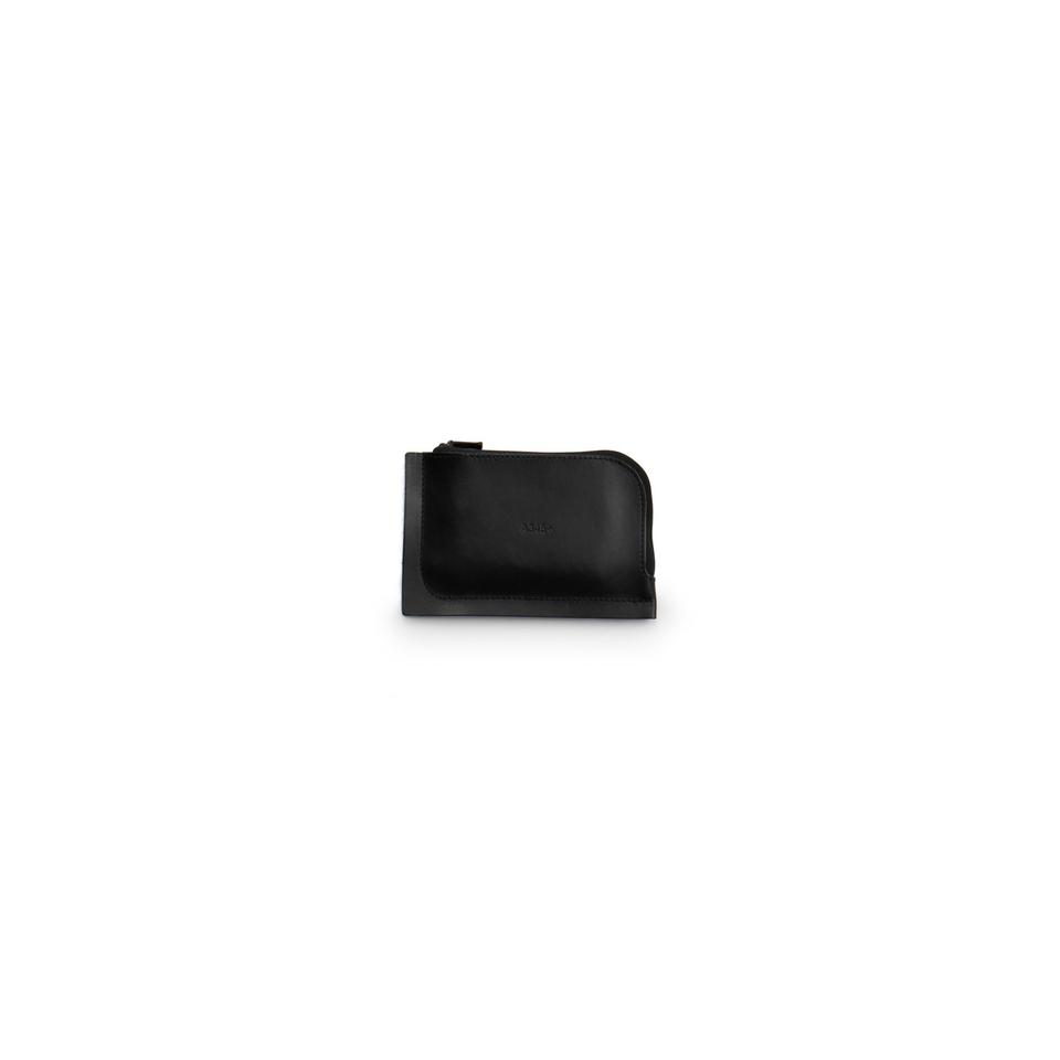 A7+ Leather Wallet Black