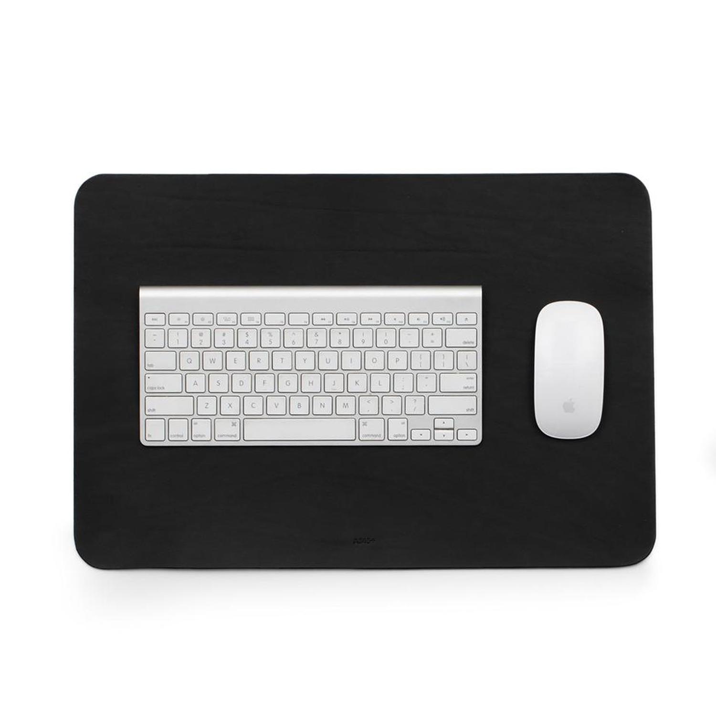 A3 Leather Desk Pad Black