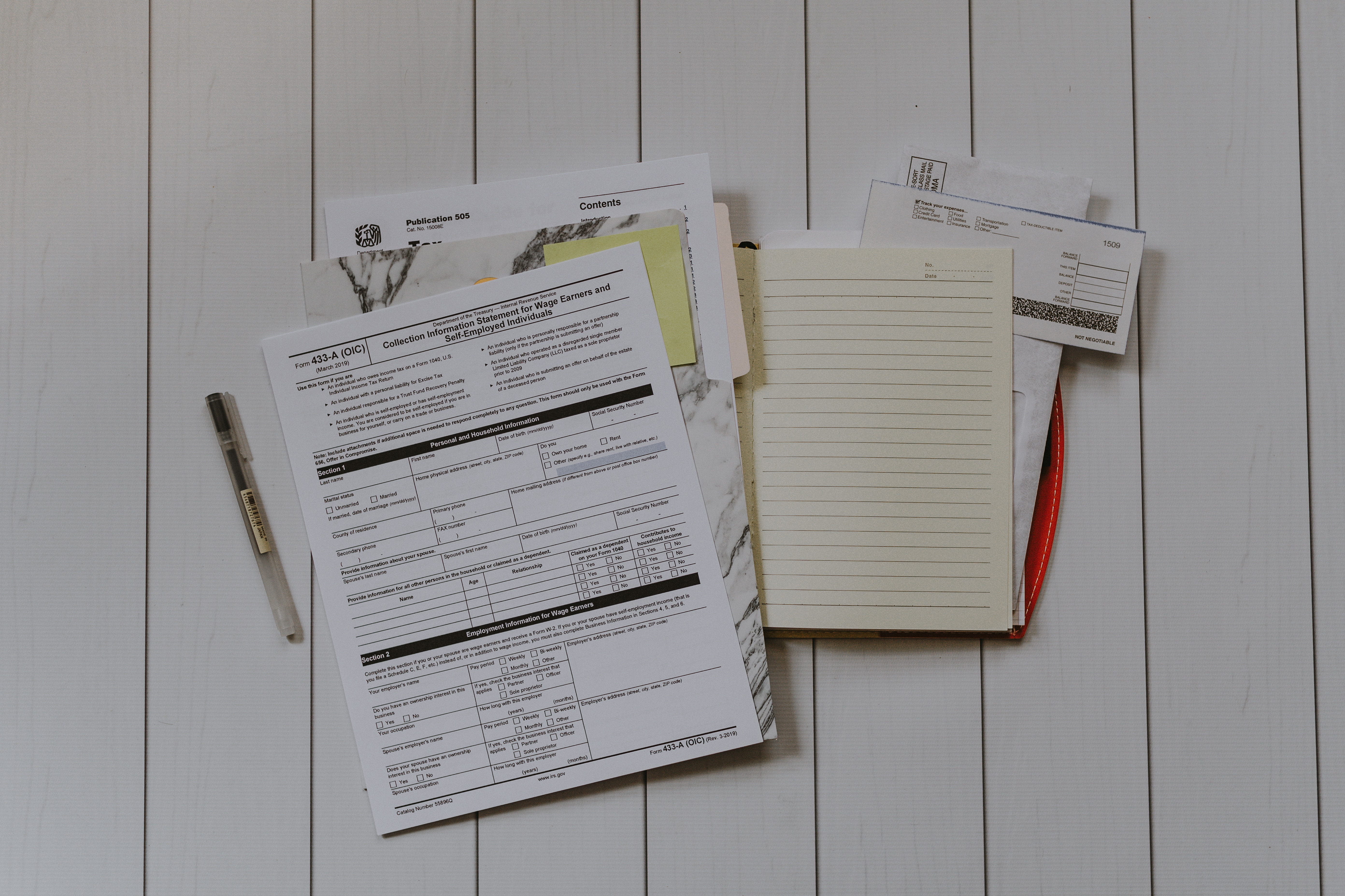 register as self employed with HMRC keeping proper records