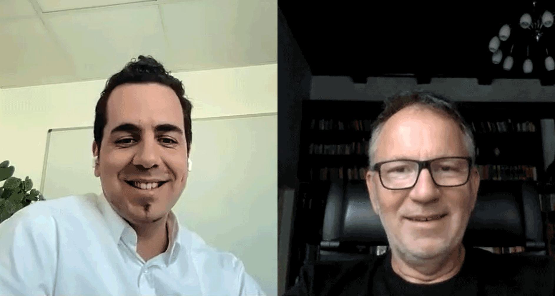 Lám István (Tresorit, Alapító) és Simó György (Day One Capital, Partner) beszélgettek.