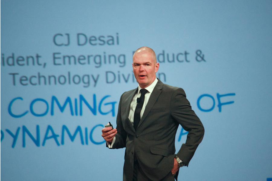 CMO presenting