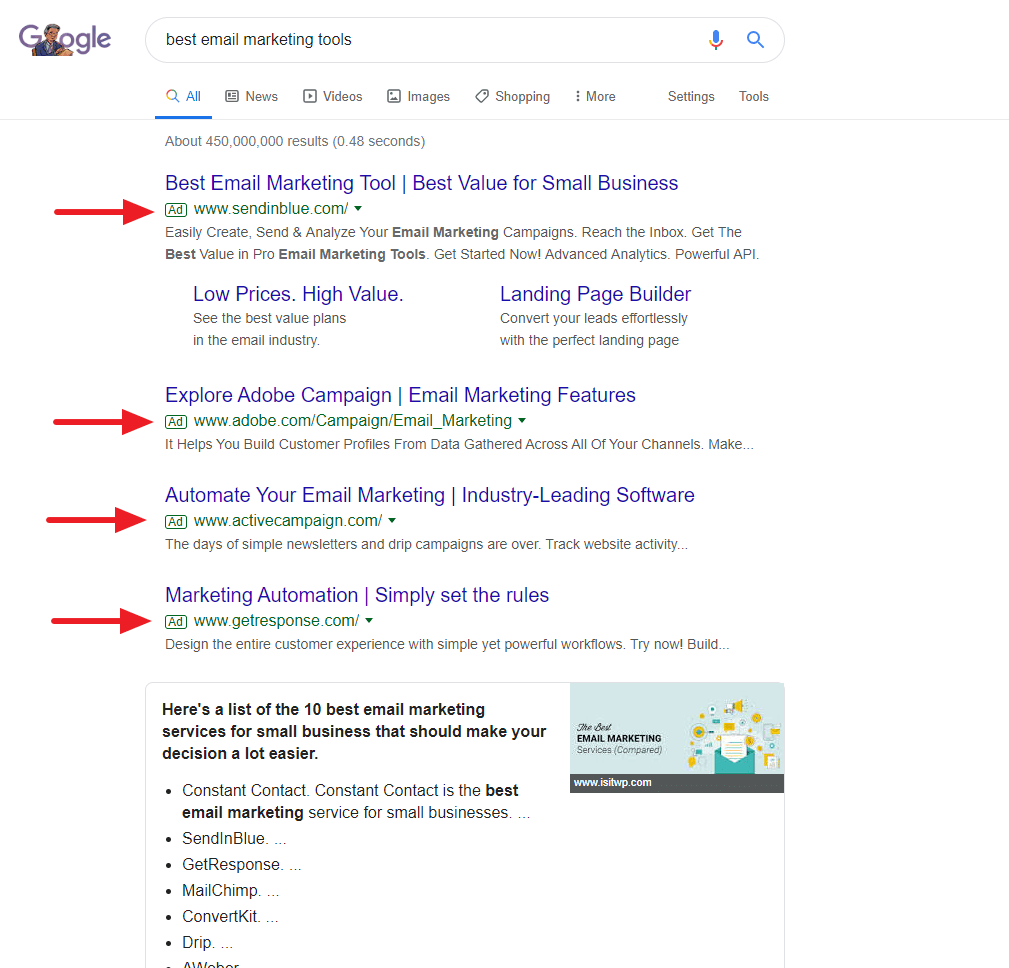 """""""Product Search Keywords"""""""