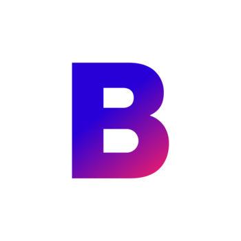 Bloomberg B logo icon