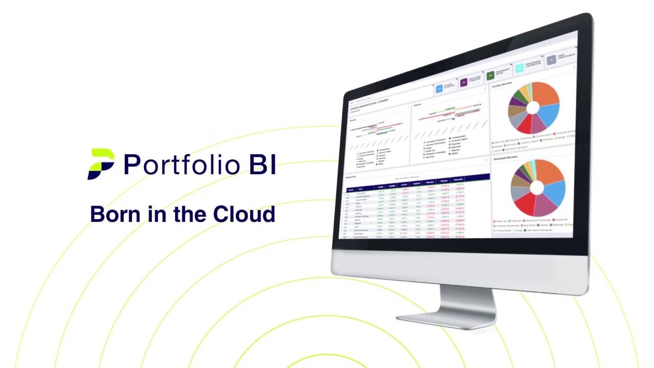 Thumbnail image for Portfolio BI EDM overview video.