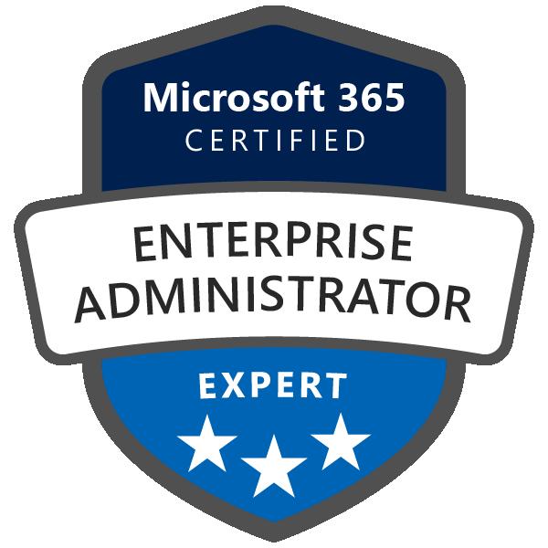Portfolio BI Microsoft 365 Certified Enterprise Administrator Expert