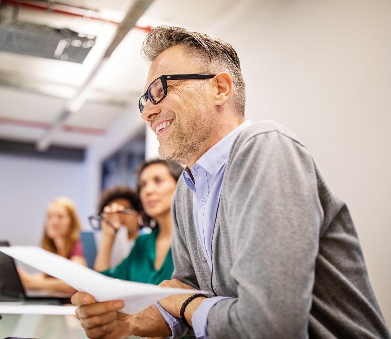 A CEO planning deployment of Portfolio BI Managed Services