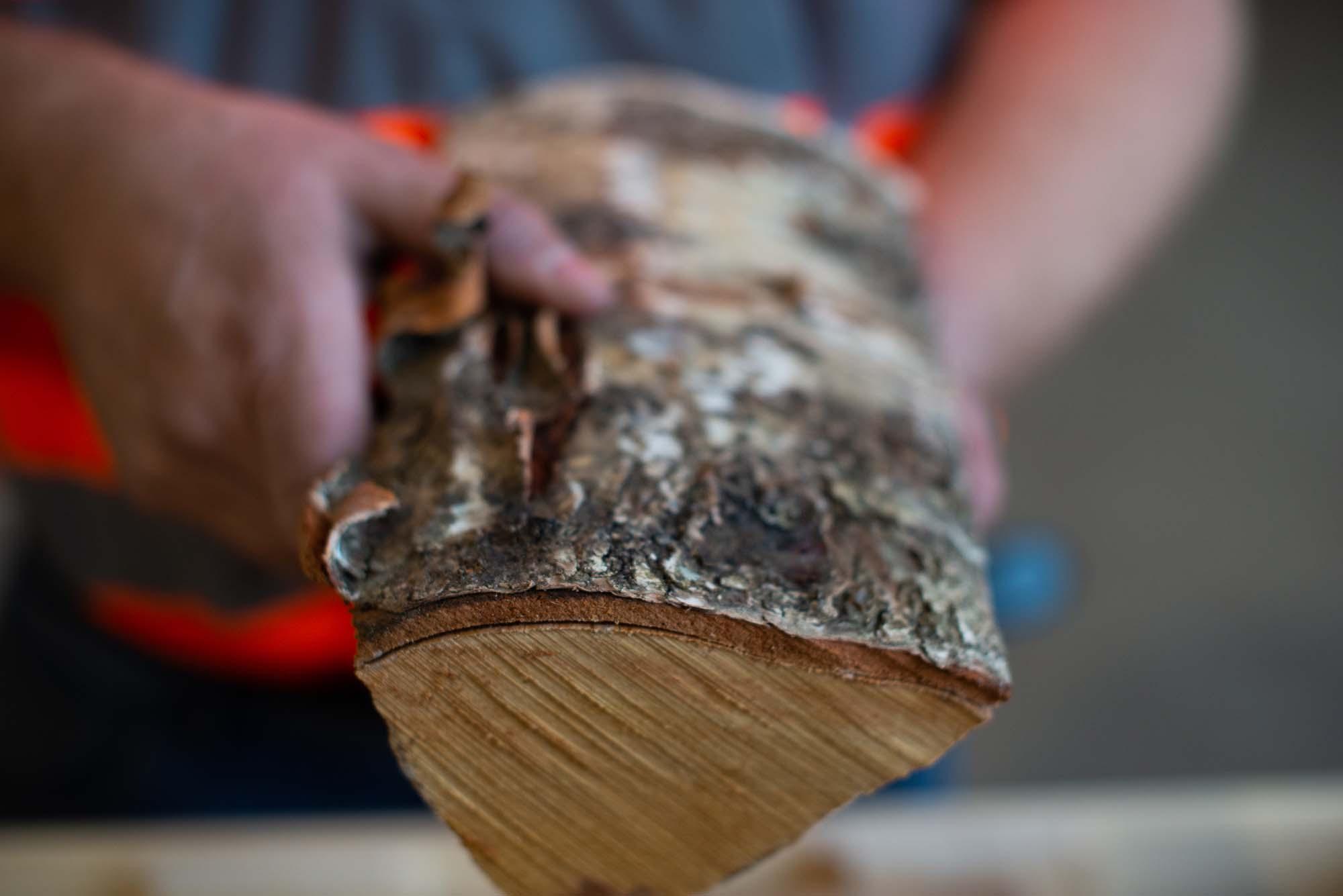 Up close Kiln Dried Hardwood Logs
