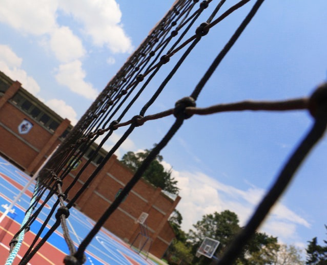 Malla de voleibol
