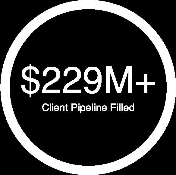 $229 million client pipeline filled