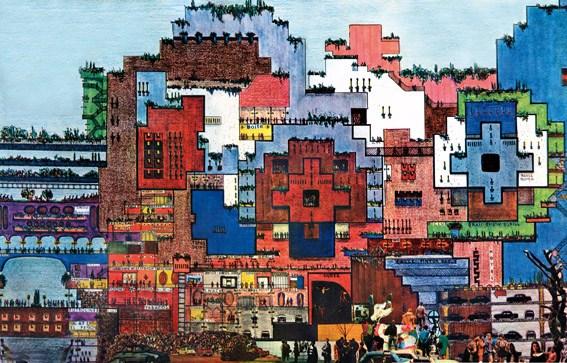 """Ricardo Bofill and Taller de Arquitectura, """"La ciudad en el espacio"""" (1970), www.ricardobofill.com"""