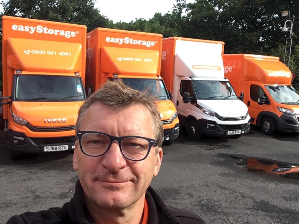 Gavin duke director at easyStorage self storage Croydon