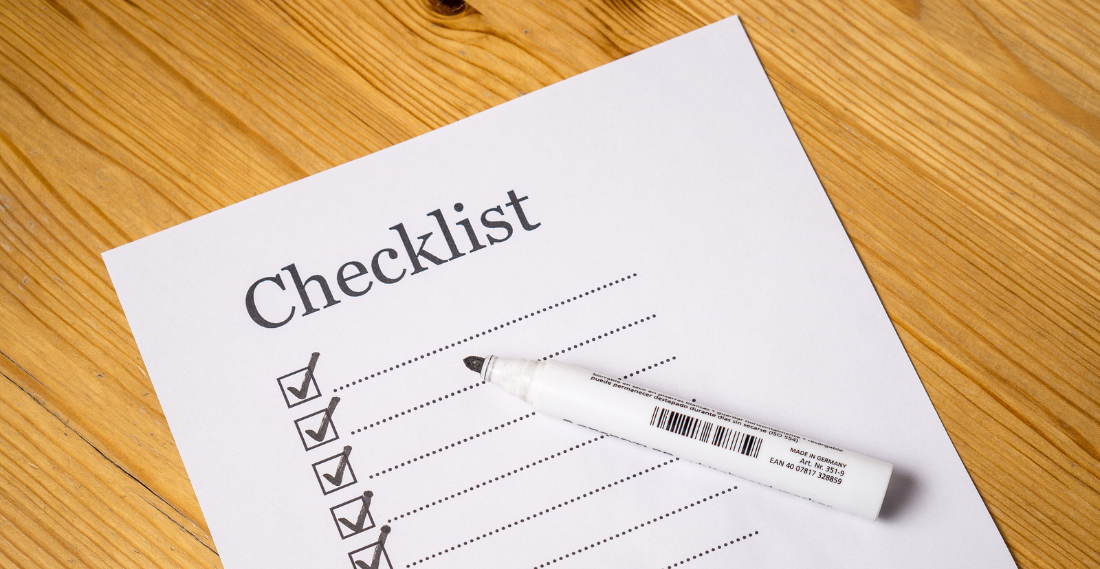 Influencer Marketing Checklist