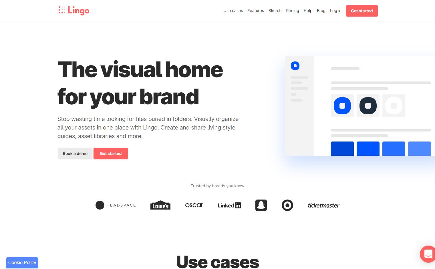 Lingoapp webflow website