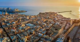 Malta waterfront