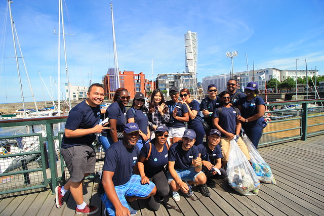 WMU Joins in Malmö Coastline Clean-up for World Oceans Day 2018