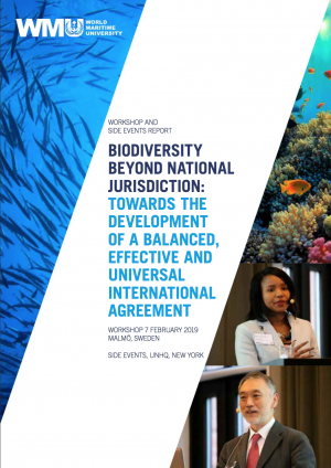 BBNJ Workshop and the UNHQ Side Events Report