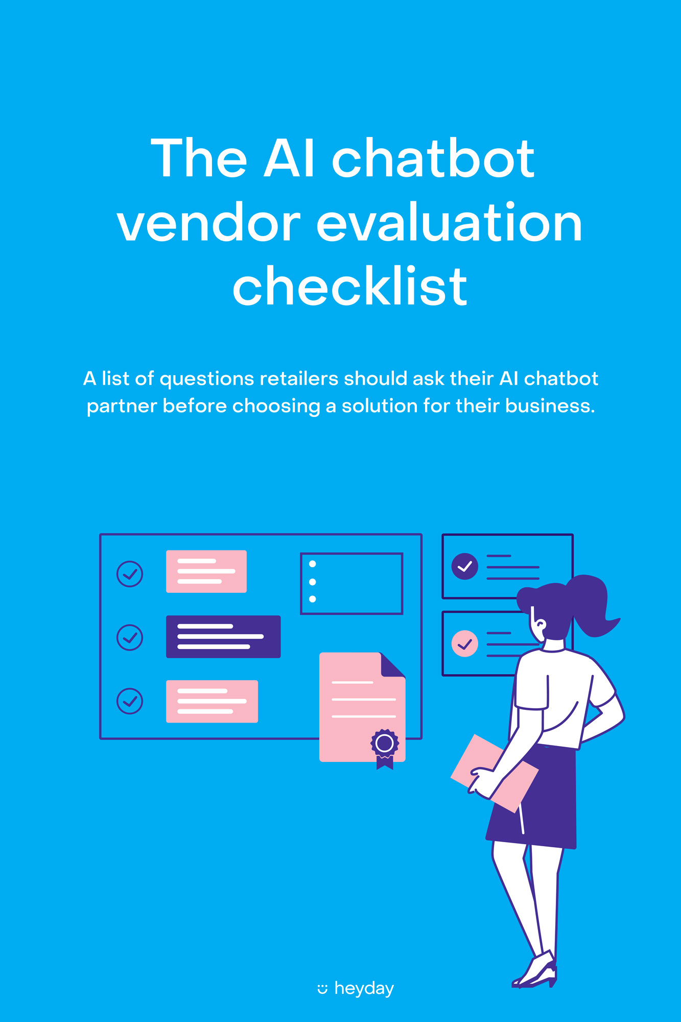 The AI chatbot vendor evaluation checklist