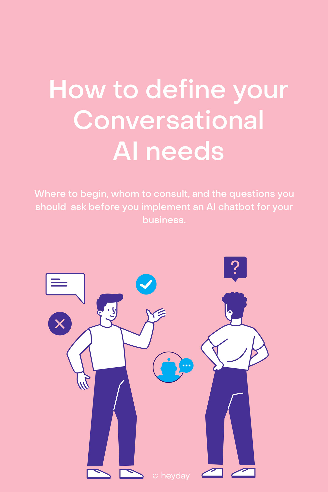 How to define your conversational AI needs