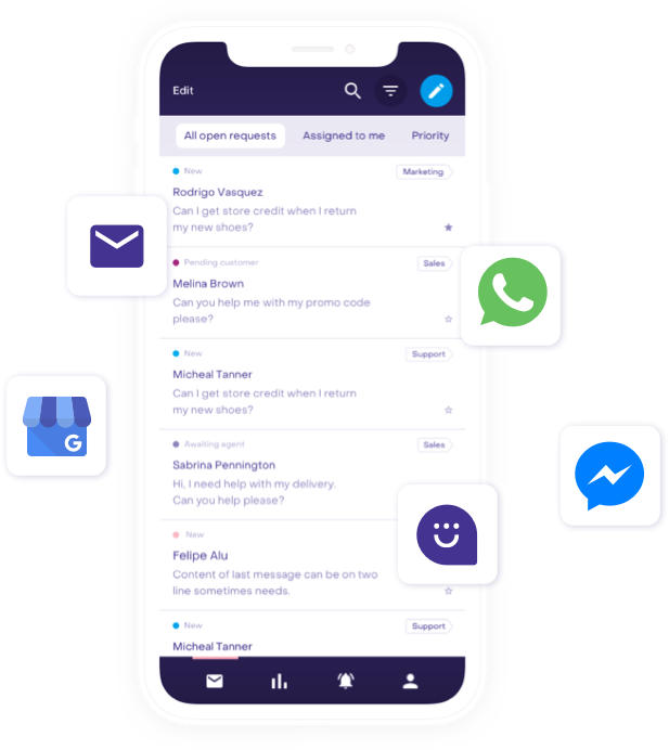 Multi-channel messaging