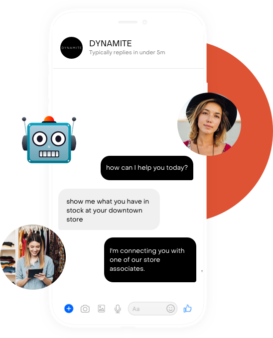 AI powered conversation routing chat