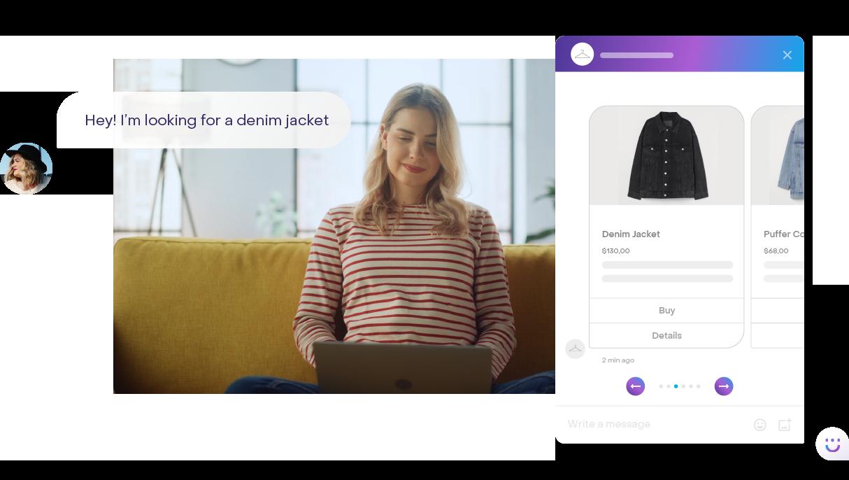 Conversational AI platform for retail