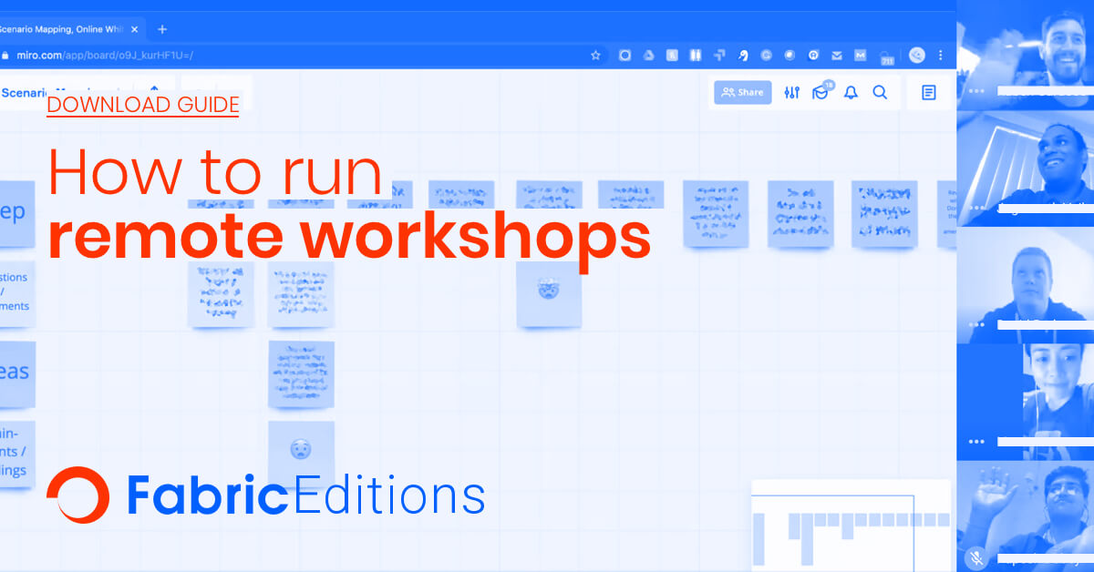 How to run remote workshops