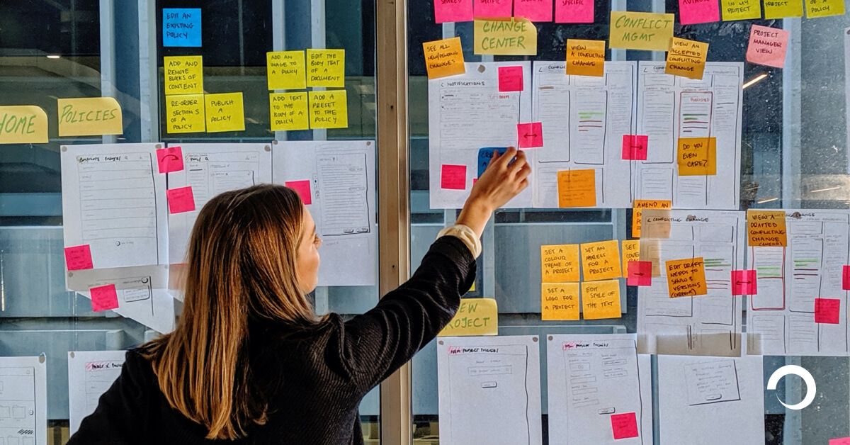 UX Consultant gathering the feedback on some designs