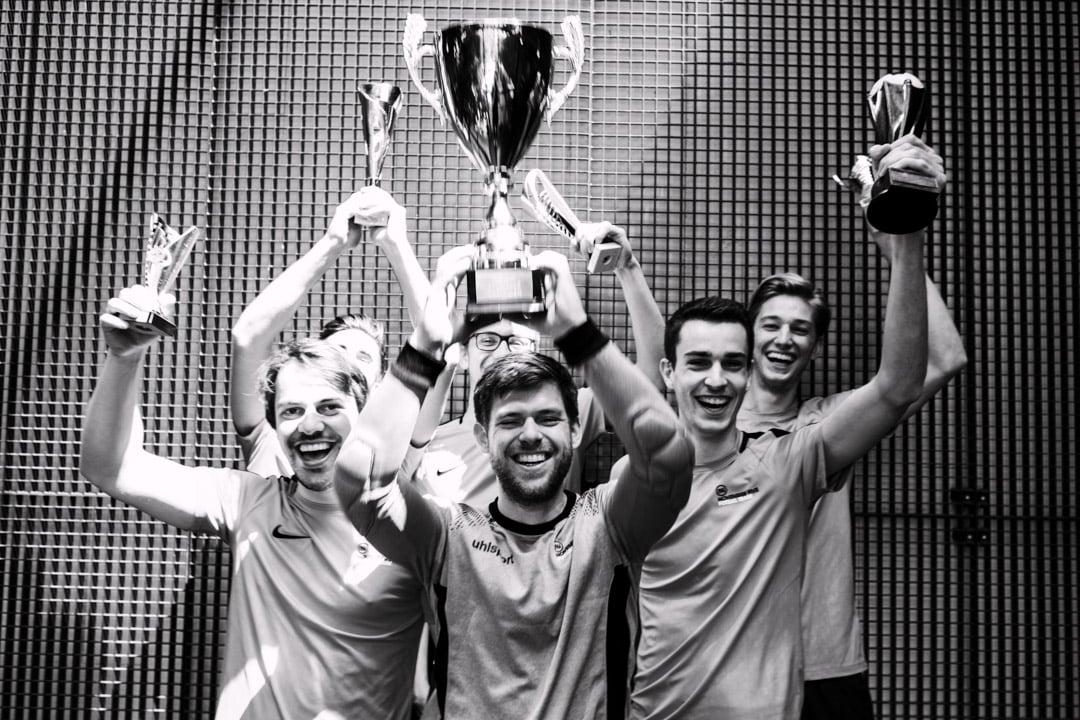 November Five Soccer Trophy
