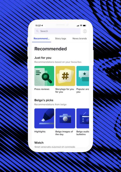 A performance-optimised news app for Belga