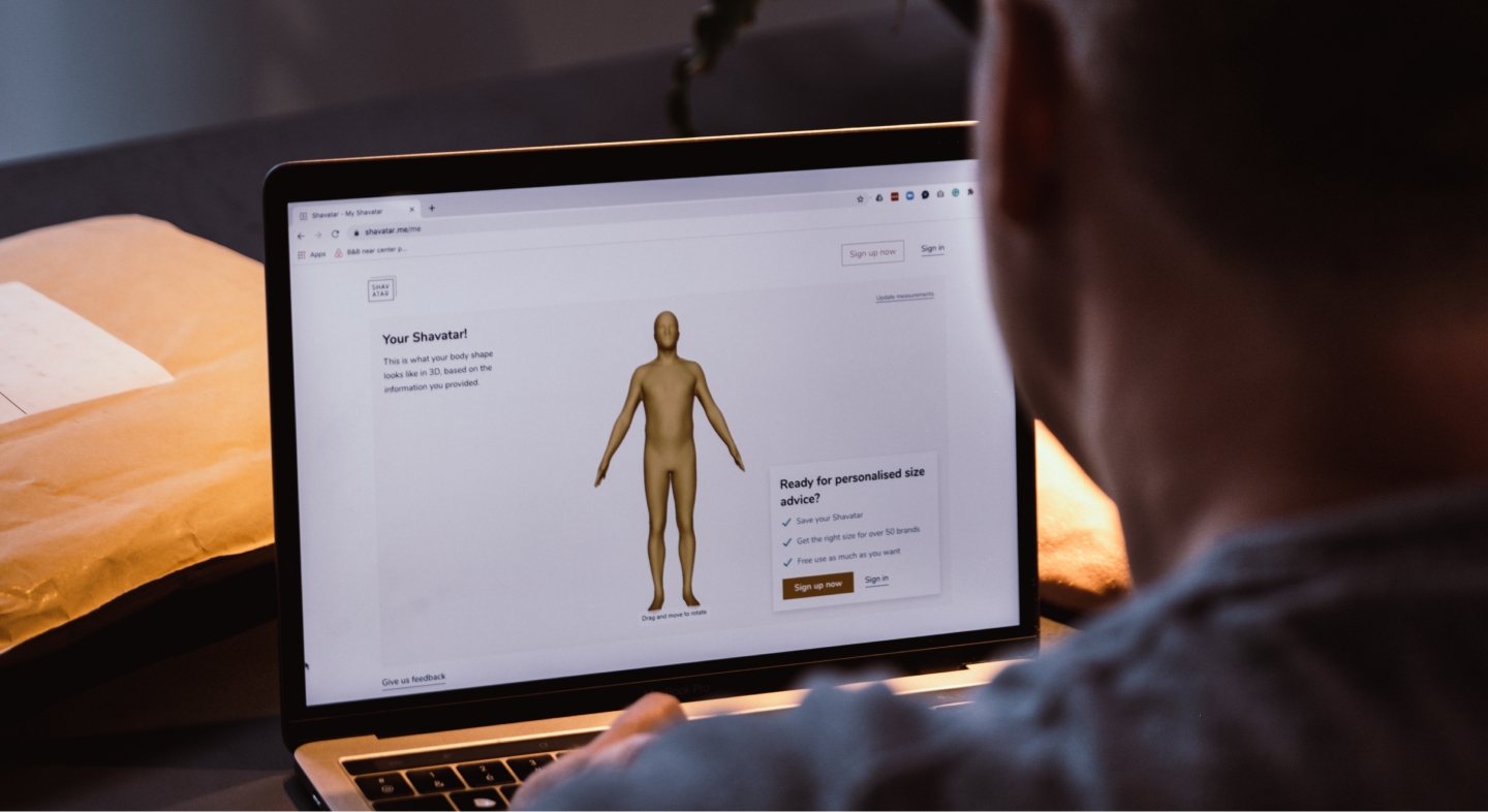 Bringing Shavatar's 3D model to the cloud for accurate sizing advice