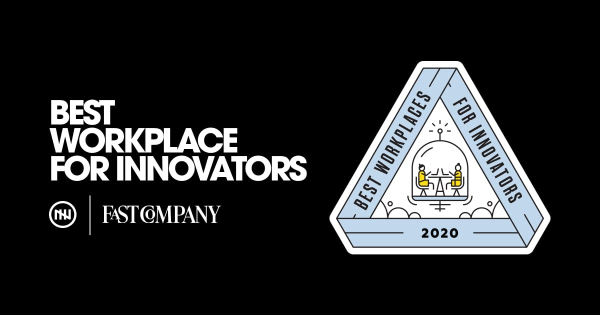 November Five recognised as one of the 100 'Best Workplaces for Innovators' across the globe