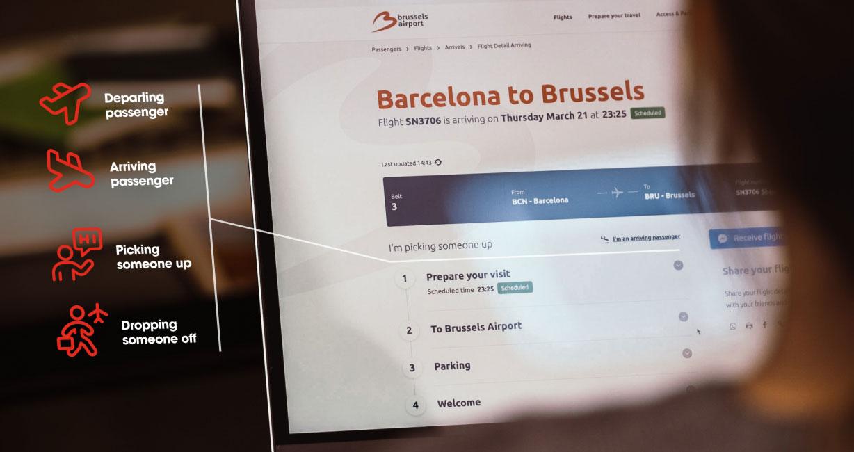 Brussels Aiport digital platform