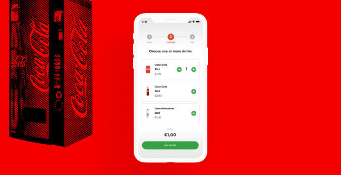 A smart, cost-effective mobile payment solution for vending machines