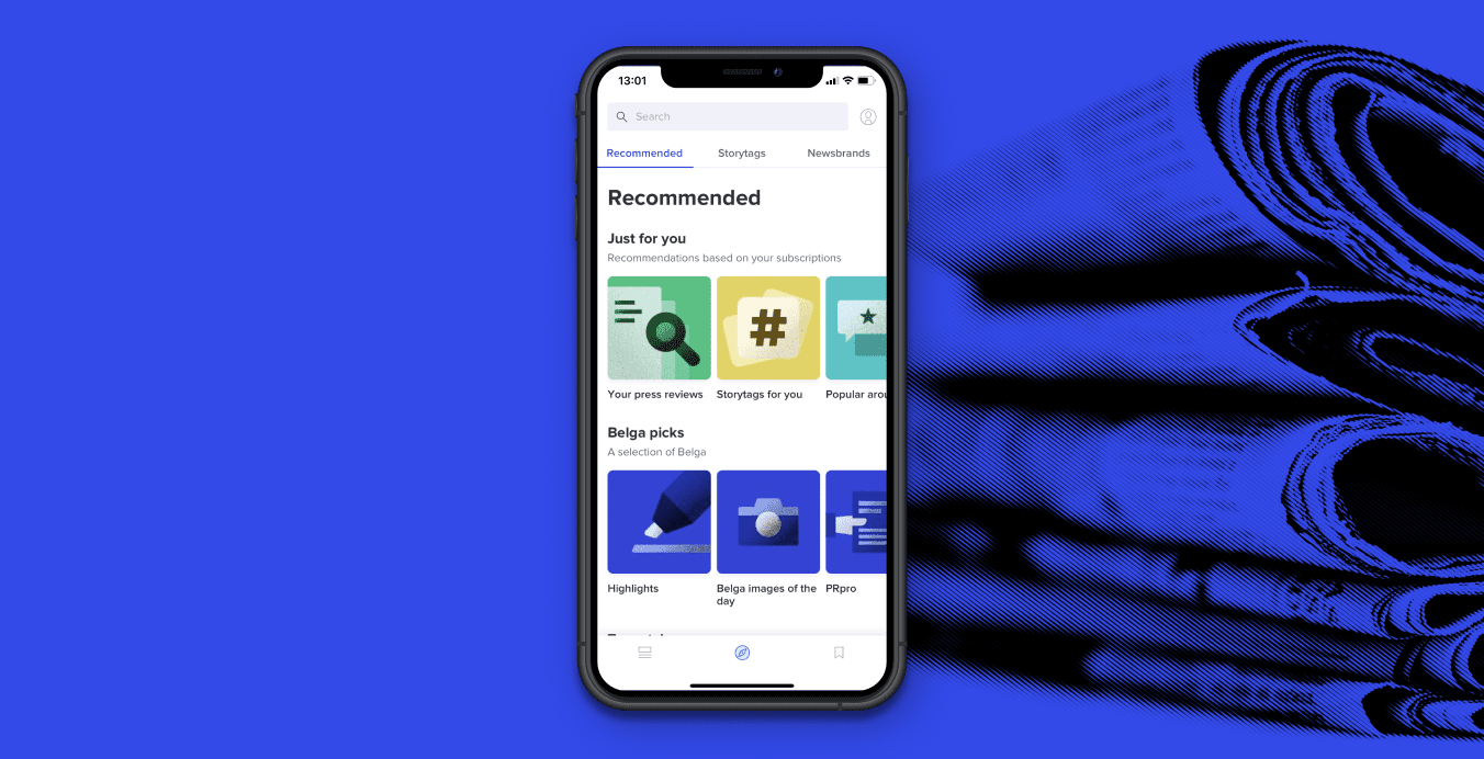 A performance-optimised news app for busy communications professionals